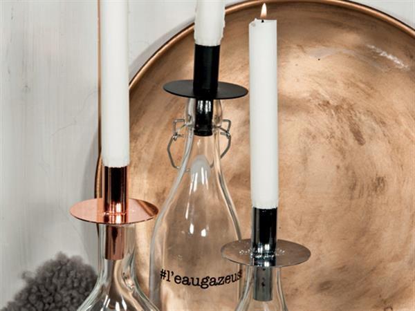 Ljushållare för flaska mässing