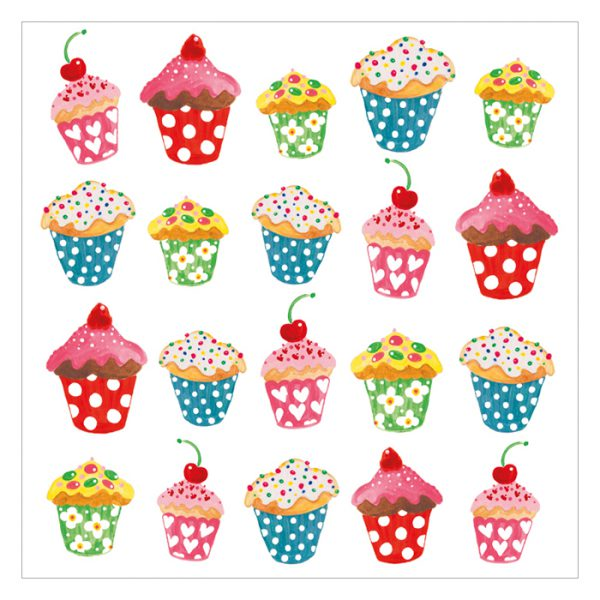 Servetter cupcakes
