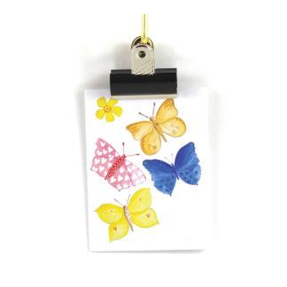 kort fjärilar