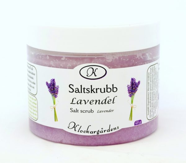 Saltskrubb Lavendel
