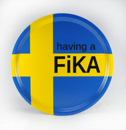 Bricka Having a Fika