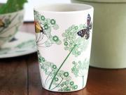 Mugg botanisk mönster
