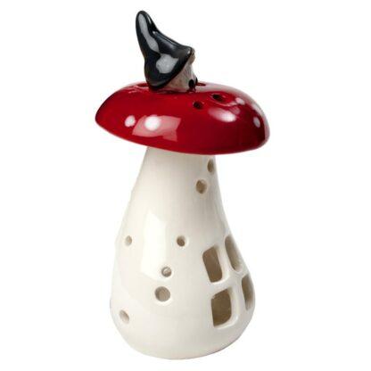 Ljuslykta Vätte på svamp H14